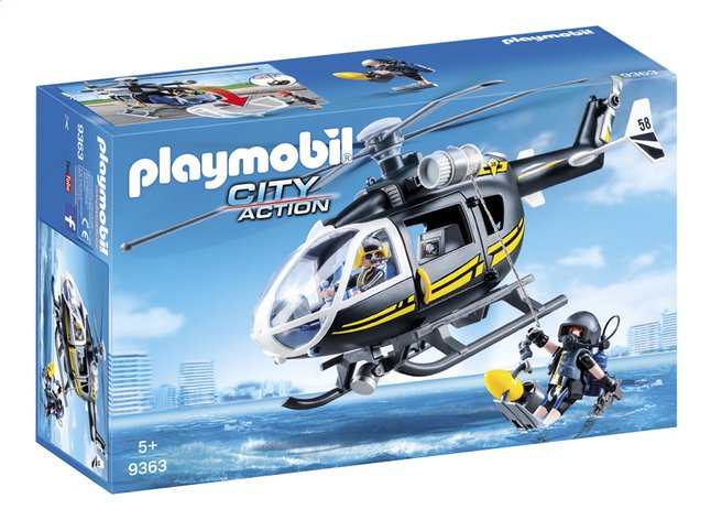 PLAYMOBIL City Action 9363 SIE - helikopter