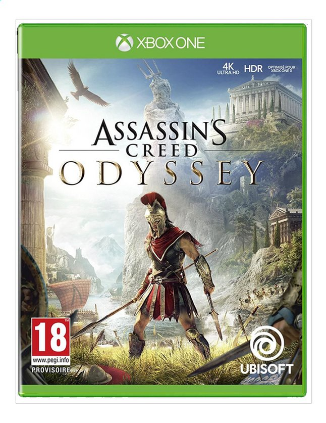 Xbox One Assassin's Creed Odyssey FR/ANG