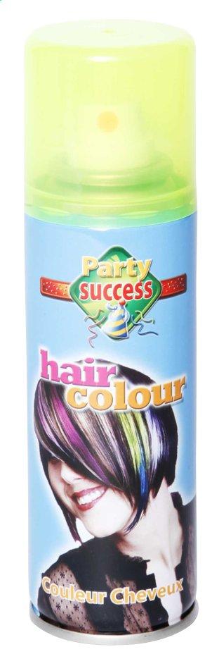 Spray pour cheveux jaune fluo 125 ml