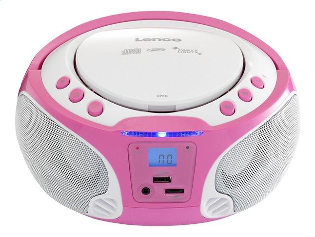 Image pour Lenco radio/lecteur CD portable SCD 650 rose à partir de DreamLand