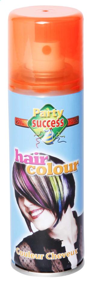 Spray pour cheveux orange fluo 125 ml