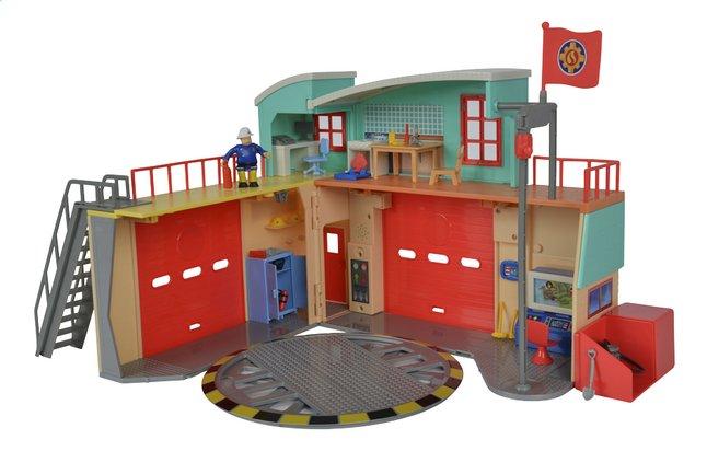 Sam le pompier nouvelle caserne de pompiers dreamland