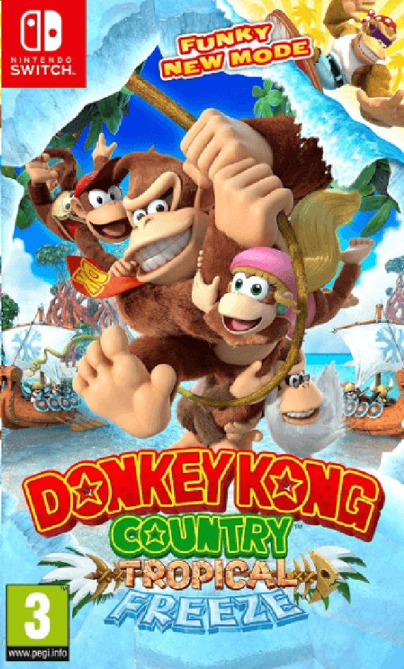 Nintendo Switch Donkey Kong Country Tropical Freeze FR