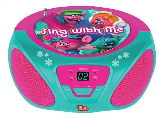 Image pour Radio/lecteur CD portable Trolls à partir de DreamLand