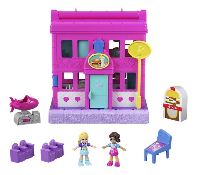 Afbeelding van Polly Pocket speelset micro Polyville restaurant from DreamLand