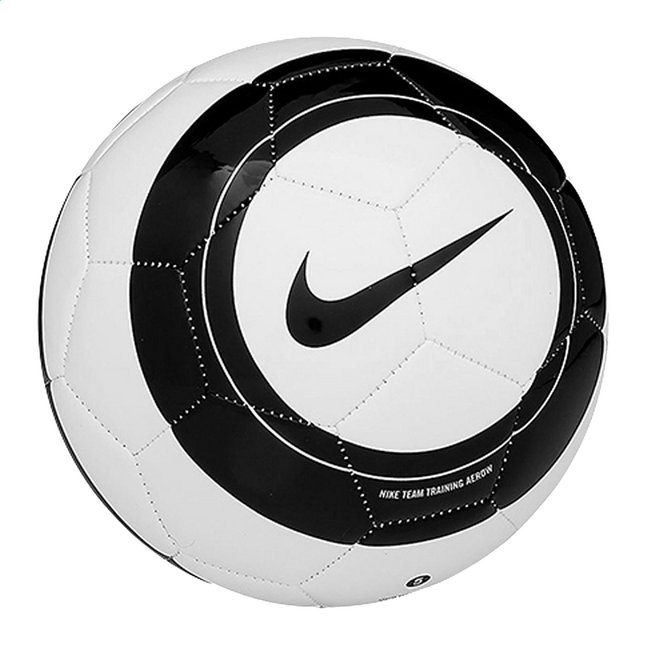 Image pour Nike ballon de football Team Training Aerow blanc/noir taille 5 à partir de DreamLand