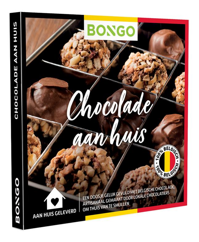 Bongo cadeaubon Chocolade aan huis