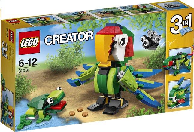 Afbeelding van LEGO Creator 31031 Regenwoud-dieren from DreamLand