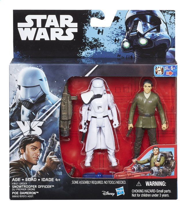 Afbeelding van Set Star Wars Rogue One deluxe pack First Order Snowtrooper Officer & Poe Dameron from DreamLand