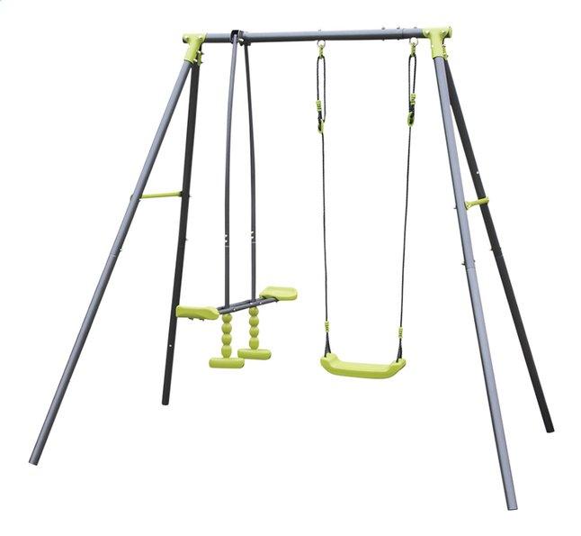 Afbeelding van Metalen schommel Mini Metal Swing duozitje Lime from DreamLand
