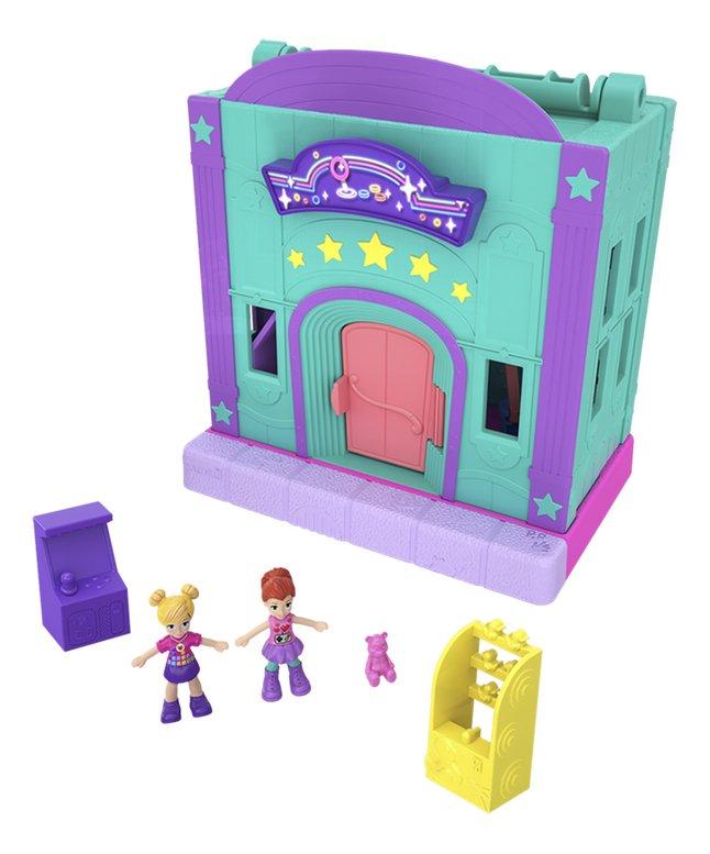 Afbeelding van Polly Pocket speelset micro Polyville speelhal from DreamLand