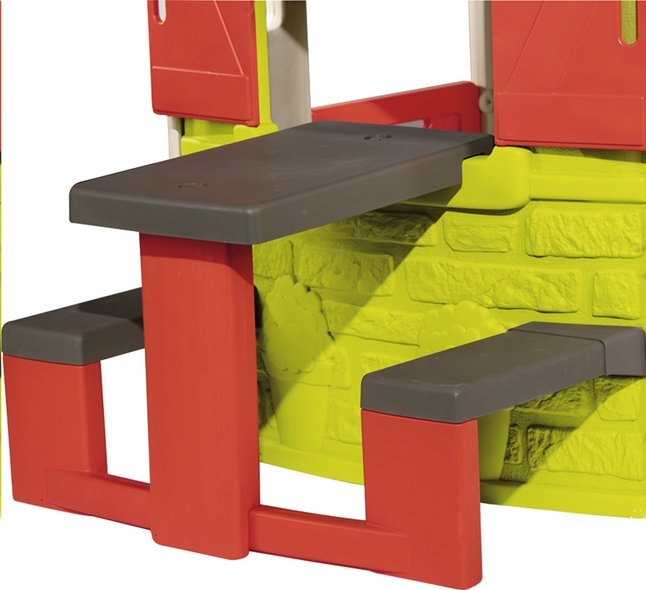 Smoby uitbreiding voor speelhuisjes Neo Jura Lodge, My Neo House en Chef House - Picknicktafel