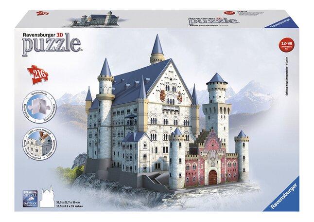 Afbeelding van Ravensburger 3D-puzzel Slot Neuschwanstein from DreamLand