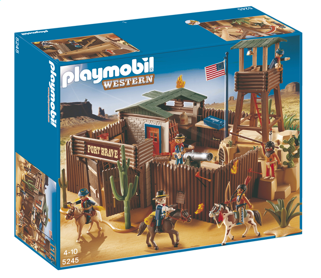 Afbeelding van Playmobil Western 5245 Western fort from DreamLand