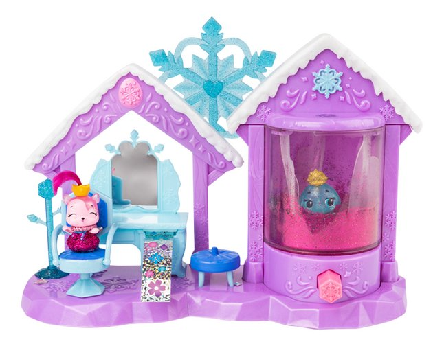 Speelset Hatchimals CollEGGtibles Glitter Salon Royal Snow Ball