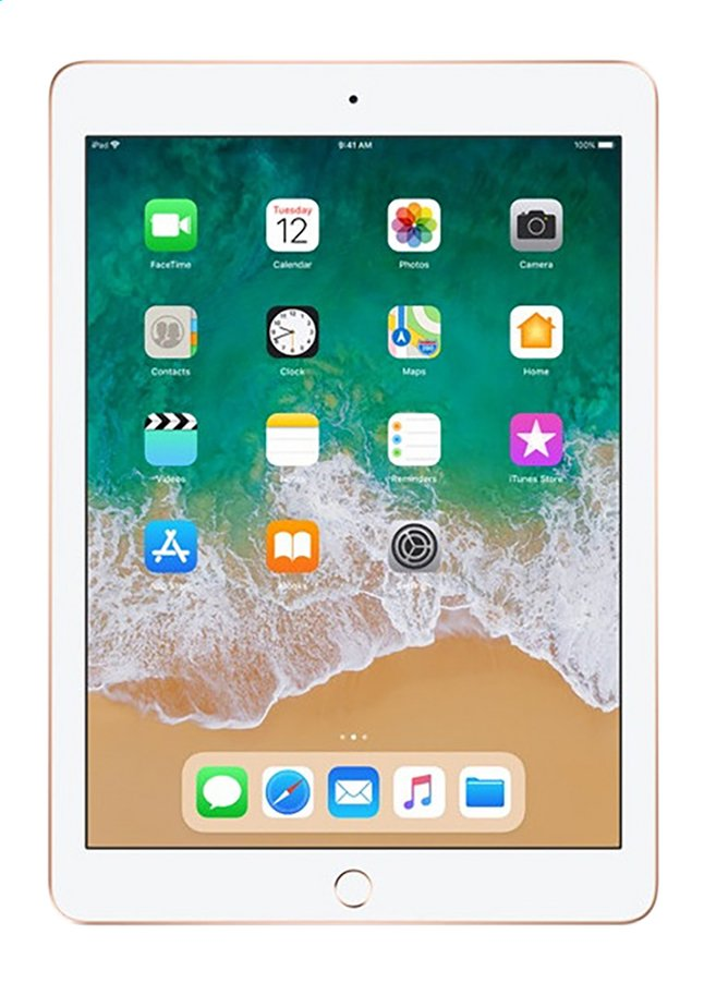 Afbeelding van Apple iPad Wi-Fi 128 GB goud from DreamLand