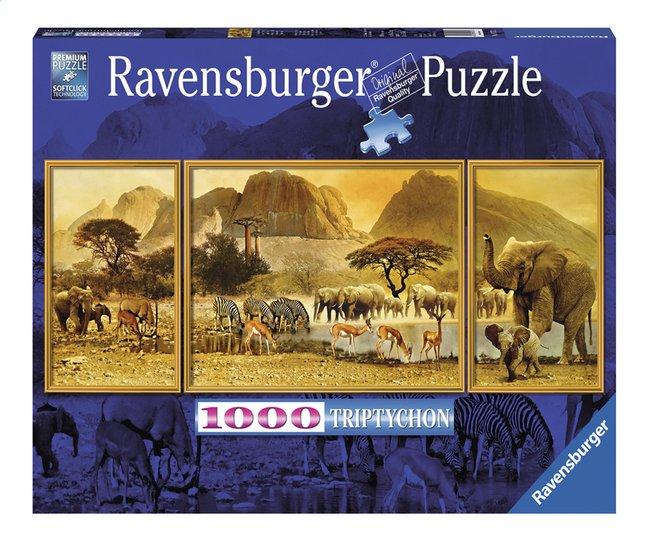 Image pour Ravensburger puzzle Triptychon Voyage en Afrique à partir de DreamLand