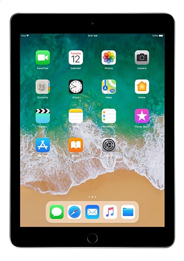 Afbeelding van Apple iPad Wi-Fi 128 GB space grey from DreamLand
