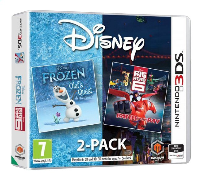 Afbeelding van Nintendo 3DS Frozen / Big Hero 6 2-pack ENG/FR from DreamLand