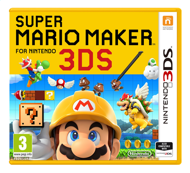 Afbeelding van Nintendo 3DS Super Mario Maker ENG from DreamLand