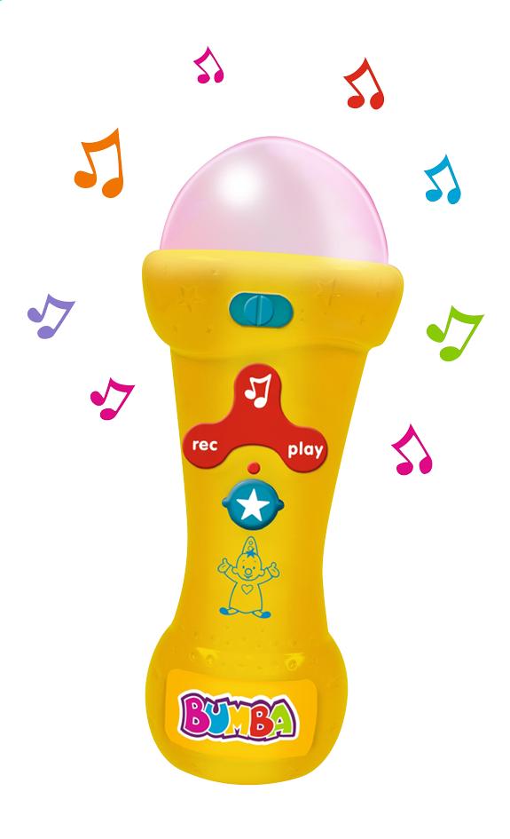 Afbeelding van Bumba Mijn eerste microfoon from DreamLand