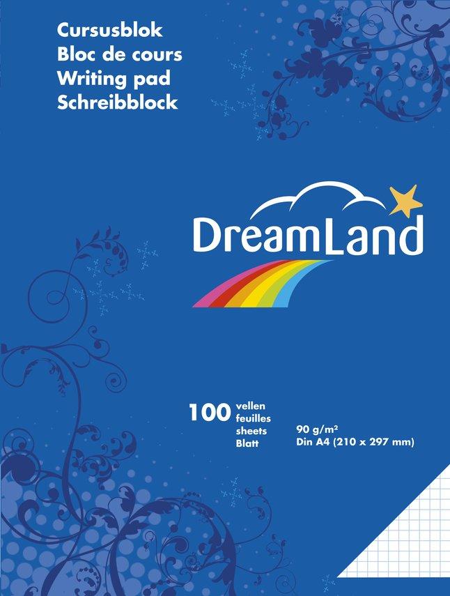 Afbeelding van DreamLand cursusblok A4 geruit - 5 stuks from DreamLand