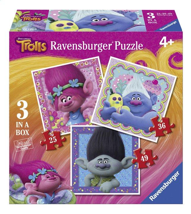 Image pour Ravensburger puzzle évolutif 3 en 1 Trolls à partir de DreamLand