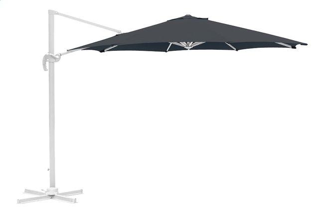 Image pour Parasol suspendu aluminium Ø 3,5 m gris à partir de DreamLand