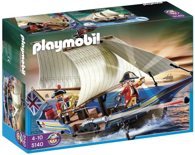 Image pour Playmobil Pirates 5140 Navire des soldats britanniques à partir de DreamLand