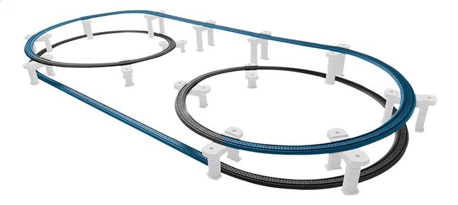 Märklin My World uitbreidingsset rails voor viaductspoorweg