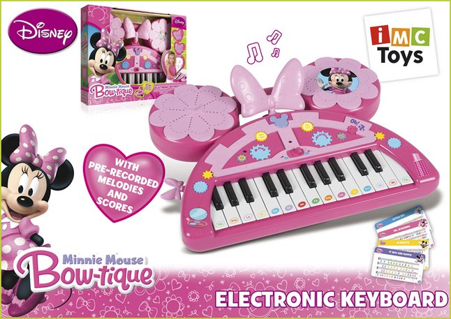 Afbeelding van Keyboard Minnie Mouse from DreamLand
