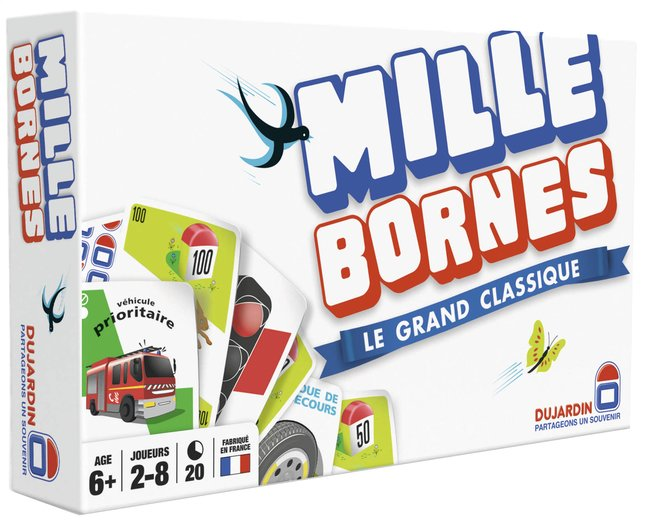 Afbeelding van Mille bornes : Le grand classique FR from DreamLand
