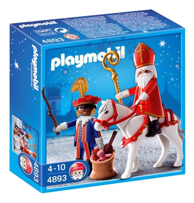 Afbeelding van Playmobil Sinterklaas 4893 Sinterklaas en Zwarte Piet from DreamLand