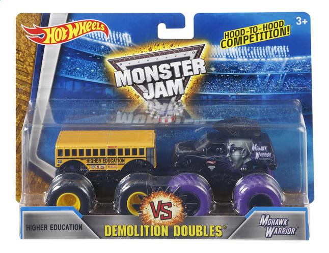 Image pour Hot Wheels Monster Truck Demolition Doubles Higher Education VS Mohawk Warrior à partir de DreamLand