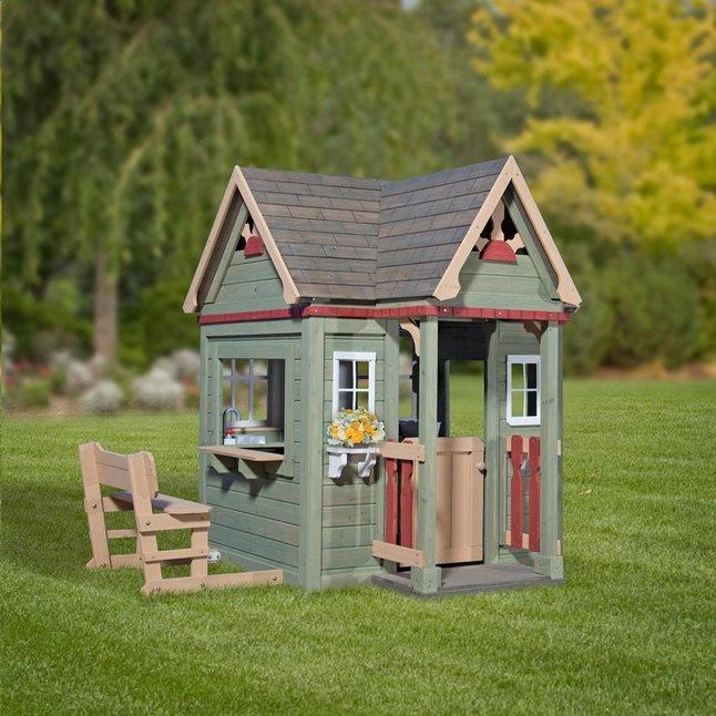 Backyard Discovery houten speelhuisje Victorian Inn