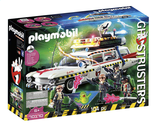 Afbeelding van PLAYMOBIL Ghostbusters 70170 Ecto-1A from DreamLand
