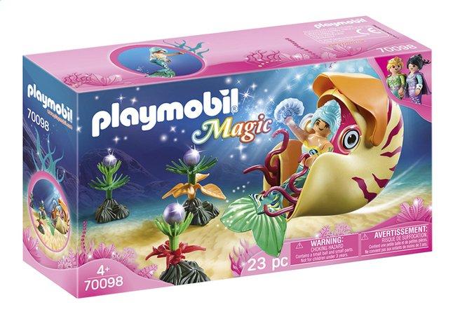 Afbeelding van PLAYMOBIL Magic 70098 Zeemeermin met zeeslakkengondel from DreamLand