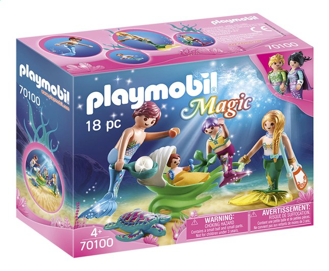 Afbeelding van PLAYMOBIL Magic 70100 Meerminnenfamilie from DreamLand