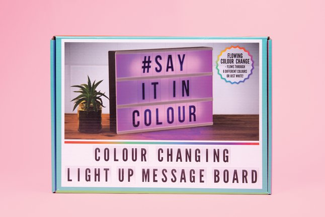 Afbeelding van Lightbox Colour Changing A4 from DreamLand