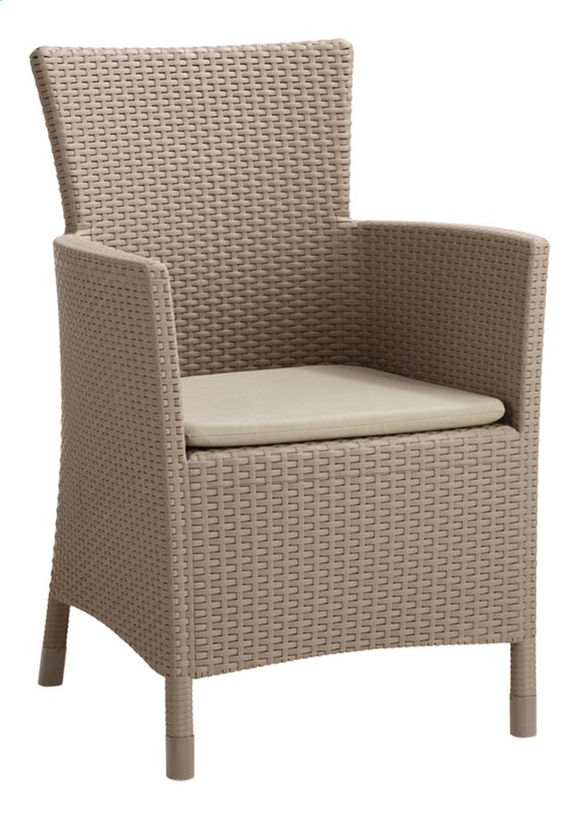 Image pour Allibert fauteuil de jardin Iowa cappuccino à partir de DreamLand