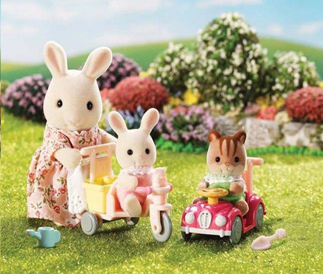 Sylvanian Families 5040 - Tricycle et Minivoiture pour bébés