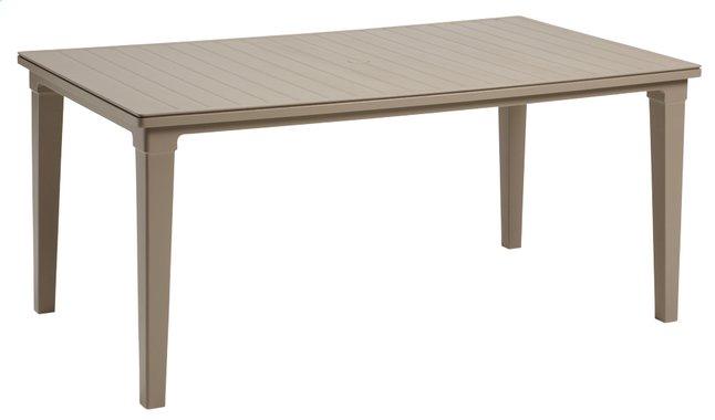 Image pour Allibert table de jardin Futura cappuccino 165 x 94 cm à partir de DreamLand