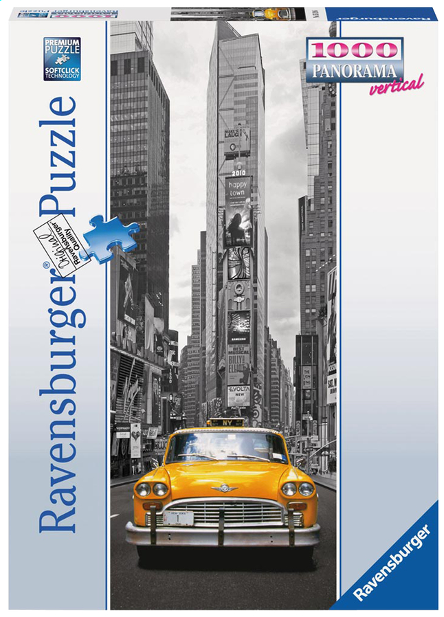 Afbeelding van Ravensburger puzzel New York Taxi from DreamLand