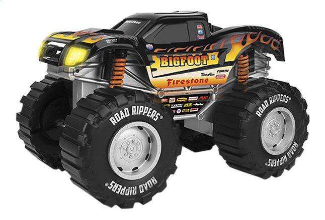 Afbeelding van Road Rippers Monster Truck Mega Big Sound Monster Truck Bigfoot zwart from DreamLand