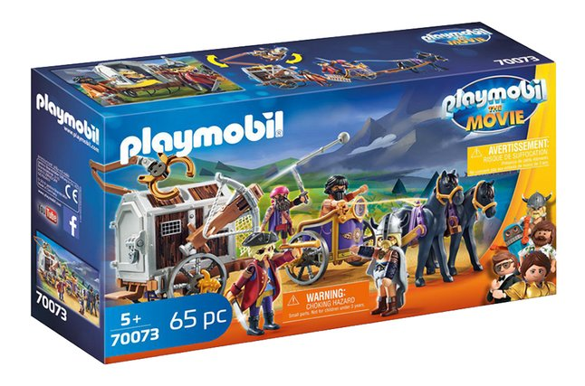 PLAYMOBIL The Movie 70073 Charlie met gevangeniswagon