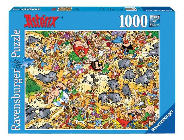 Afbeelding van Ravensburger puzzel Asterix Jacht op de everzwijnen from DreamLand