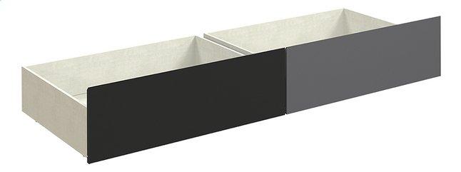Image pour Tempo double tiroir pour lit à partir de DreamLand