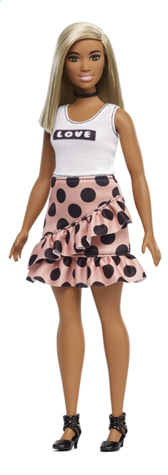 Barbie mannequinpop Fashionistas Curvy 111 - Polka Dot