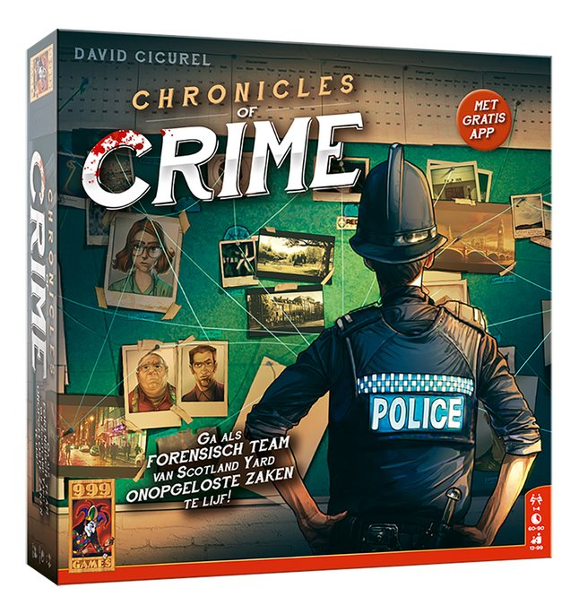 Afbeelding van Chronicles of Crime from DreamLand