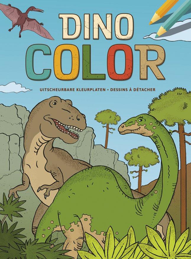 Kleurblok Dino Color